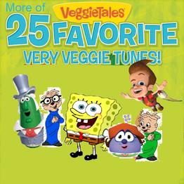 More of 25 Favorite Very Veggie Tunes