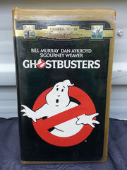 Ghostbusters CTHV VHS