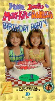 Mary Kate and Ashley Birthday Party VHS