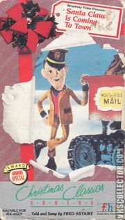 Santa Claus Is Coming To Town VHS Front Cover 0