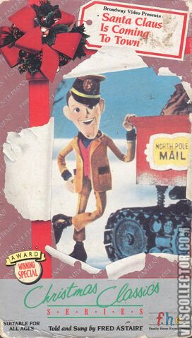 File:Santa Claus Is Coming To Town VHS Front Cover 0.jpeg