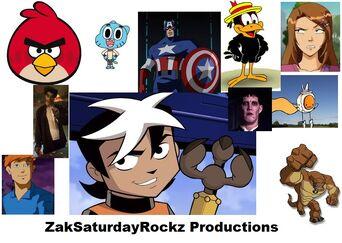 ZakSaturdayRockz Productions