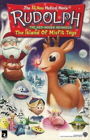 Rudolph The Red-Nosed Reindeer And The Island Of Misfit Toys Theatrical Poster