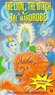 The lion the witch and the wardrobe vhs
