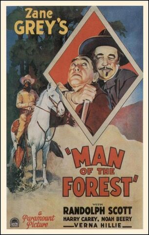 File:1933 - Man of the Forest Movie Poster.jpg