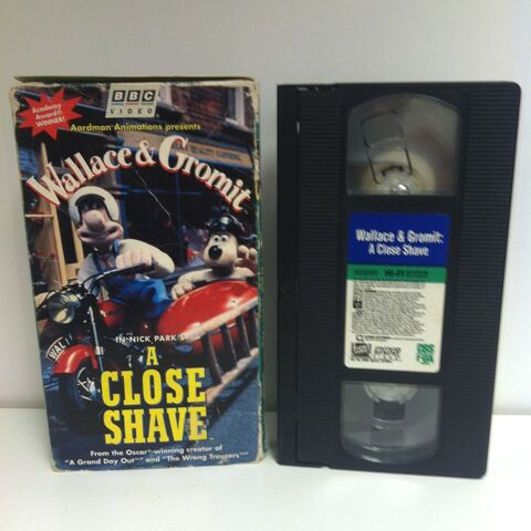 File:Wallace & Gromit A Close Shave VHS.JPG