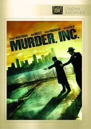 1960 - Murder Inc DVD Cover (2017 Fox Cinema Archives)