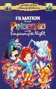 Pinocchio and the emperor of the night columbia tristar vhs
