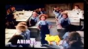 Shirley Temple singing Animal Crackers