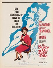 1959 - The Story on Page One Movie Poster