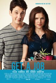 2016 - Get a Job Movie Poster