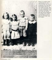 Unga hos fotografen 1913