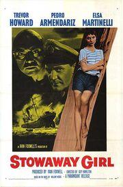 1957 - Stowaway Girl Movie Poster