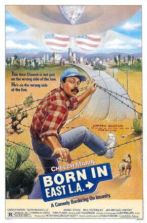 1987 - Born in East LA