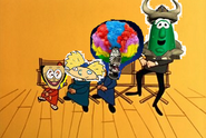 The Characters as they appear in The Sanjay Show