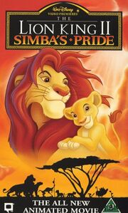 The lion king ii simbas pride uk vhs