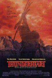 1992 - Thunderheart Movie Poster 1