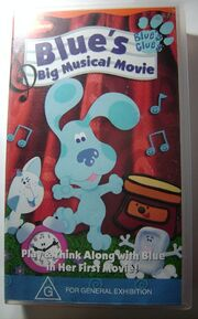 Blue's big musical movie australian vhs