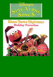Elmo Saves Christmas Cover