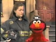 Elmo from Elmo Visits the Firehouse