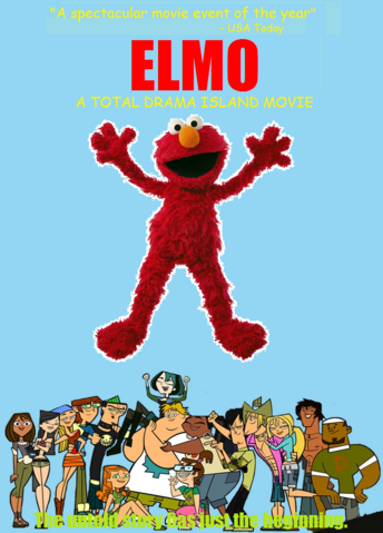 File:Elmo A Total Drama Island Movie VHS.png