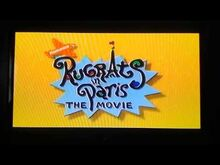 Rugrats in Paris The Movie VHS and DVD Trailer