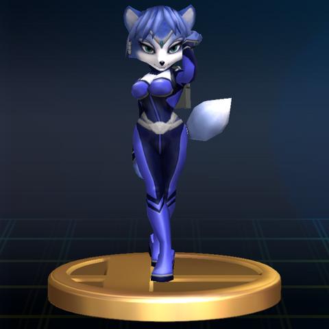 File:Krystal Trophy 194 - Super Smash Bros. Brawl.png