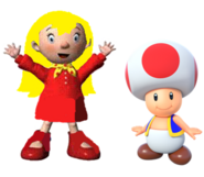 Mary and Toad