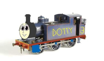 Dotty The Blue Train