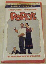 Popeye Paramount VHS