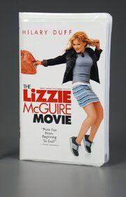The Lizzie McGuire Movie VHS