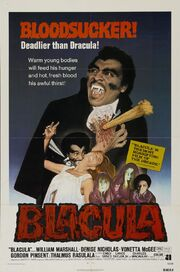 1972 - Blacula Movie Poster