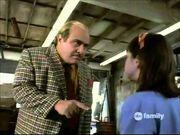 Harry Wormwood berating Matilda
