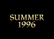 Summer 1996 Title Card from Aladdin and the King of Thieves Preview