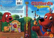 Cliffords Really Big Movie VHS Cover