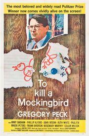 1962 - To Kill a Mockingbird Movie Poster -2