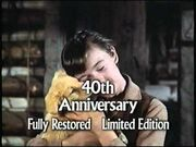 40th Anniversary Fully Restored Limited Edition Title Card from Old Yeller Preview
