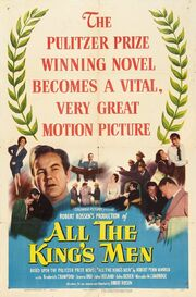 1949 - All the King's Men Movie Poster
