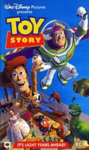 Toy story uk vhs