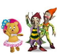 Tessie, Sly and Gobbo