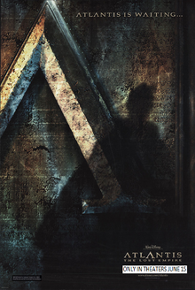 Atlantis The Lost Empire (2001) Poster