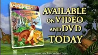 Opening to The Land Before Time 2003 DVD