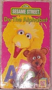 Do The Alphabet Sesame Street Big Bird VHS Video