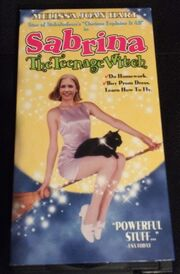 Sabrina the Teenage Witch The Movie VHS