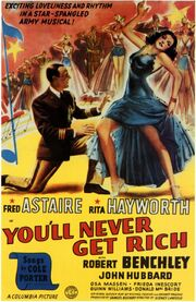 1941 - You'll Never Get Rich Movie Poster
