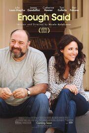 2013 - Enough Said Movie Poster