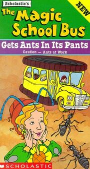 Gets Ants In Pants VHS