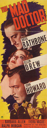 1941 - The Mad Doctor Movie Poster