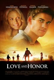 2013 - Love and Honor Movie Poster
