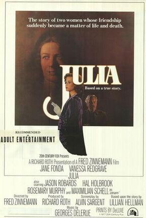 Poster - Julia (1977)